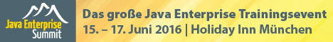 Java Enterprise Summit 2016